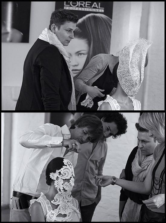 Erscheinung und Vanitas - Looktest für Dawid Tomaszewski bei L'Oréal Professionnel