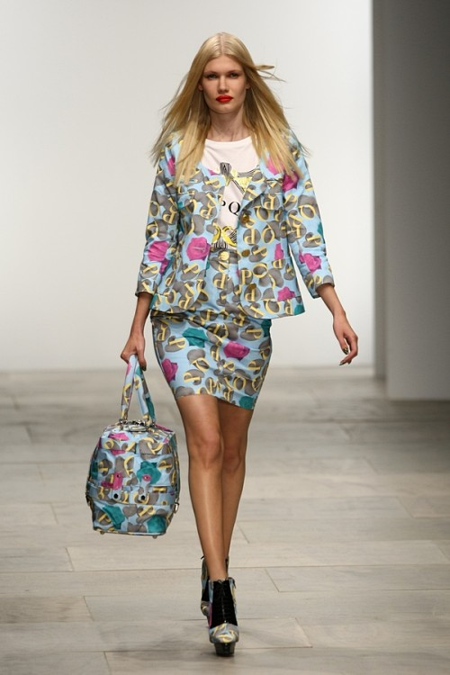 London Fashion Week SS12 - 1. Tag