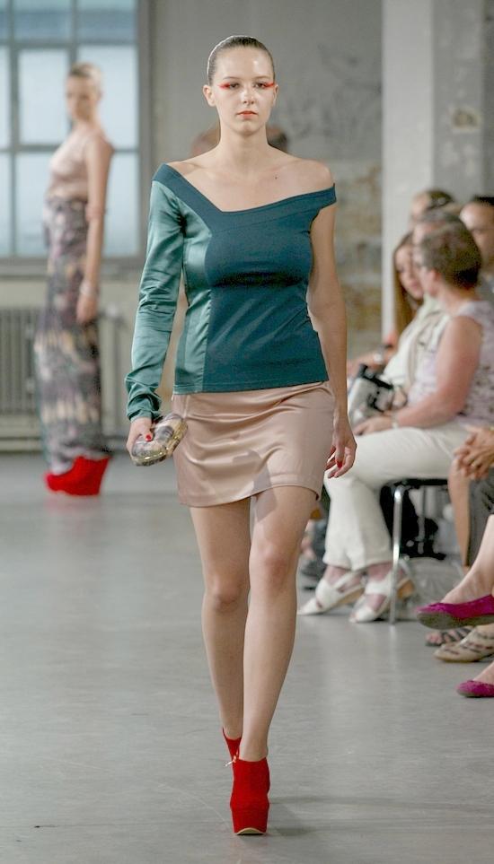 Mode Design Schule Zürich - Diplomschau 2012 - Teil 1
