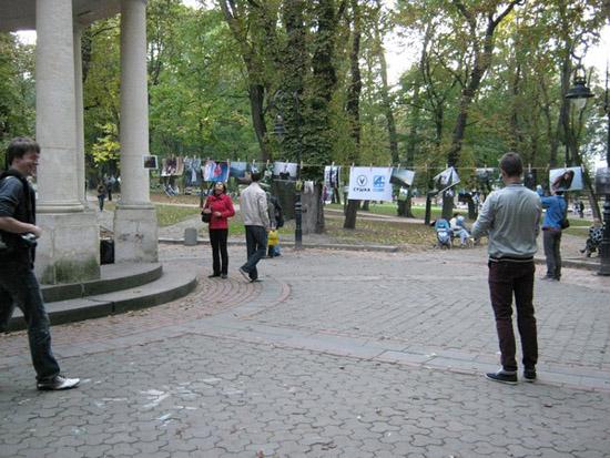 Erste Suschka in Lviv am 6.10.2012