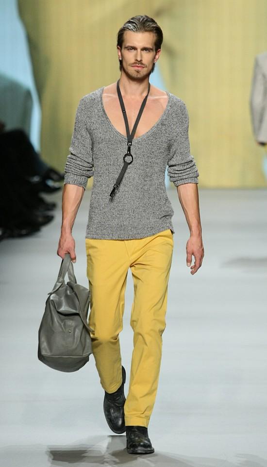 Marc Stone auf den Zurich Fashion Days 2012