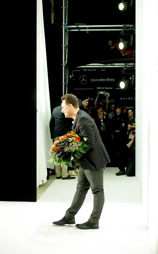 Guido Maria Kretschmer AW13 – BACKSTAGE