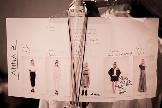 Mode Design Schule Zürich - Diplomschau 2013