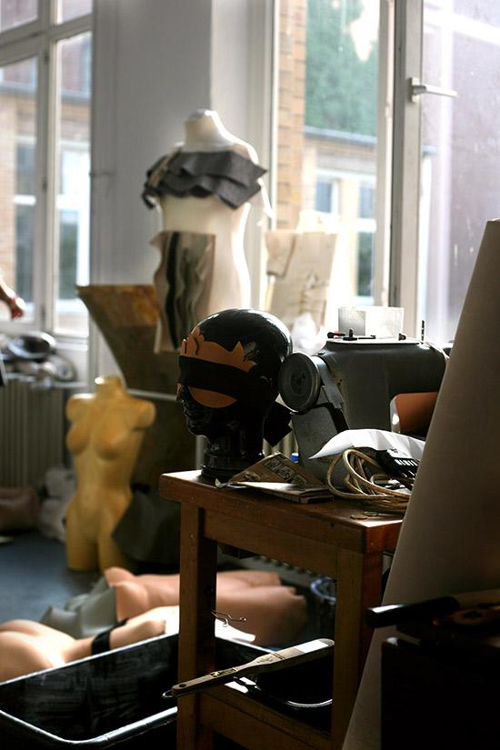 Atelierbesuch bei Marina Hoermanseder