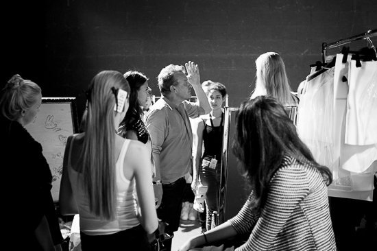 Zürich Fashion Days – Impressionen Backstage