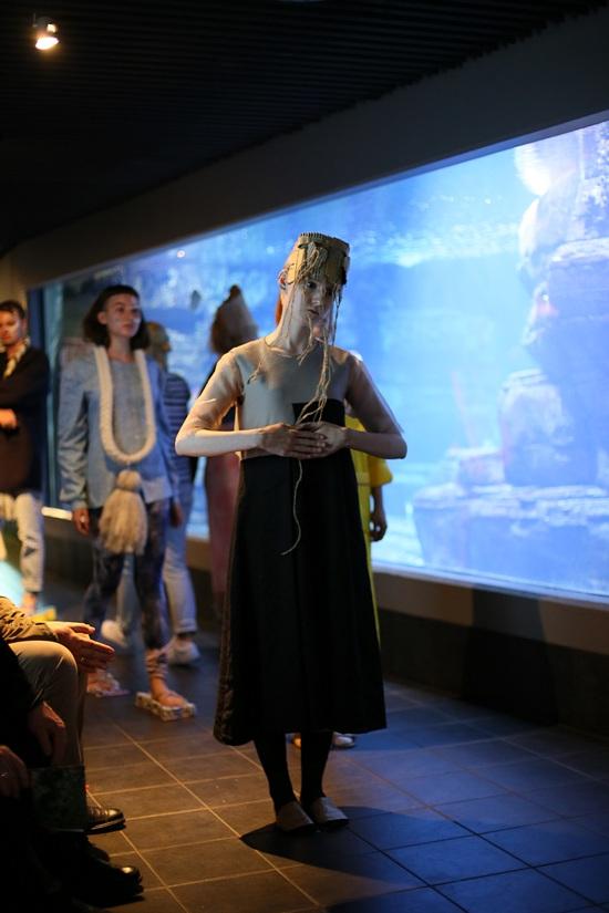 HDK im Aquarium. Fashionweek 2016