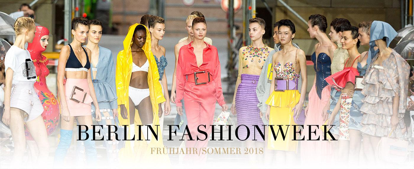 Berlin Fashion Week Sommer 2018