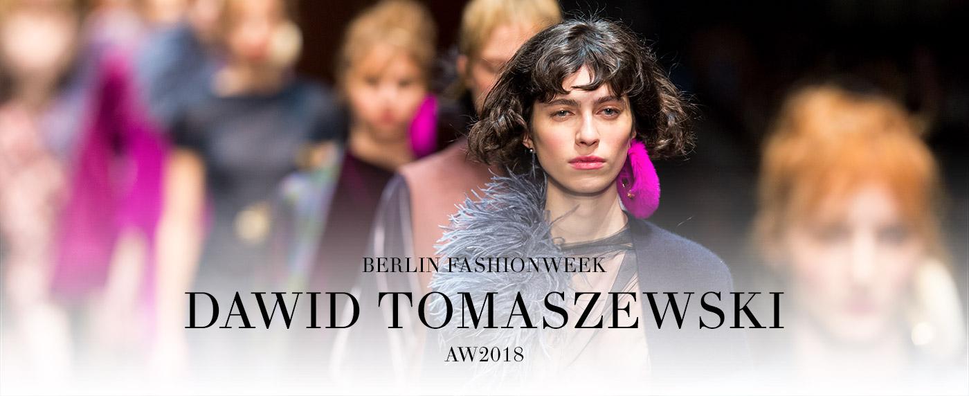Dawid Tomaszewski  AW18 modaCYCLE BerlinFashionWeek