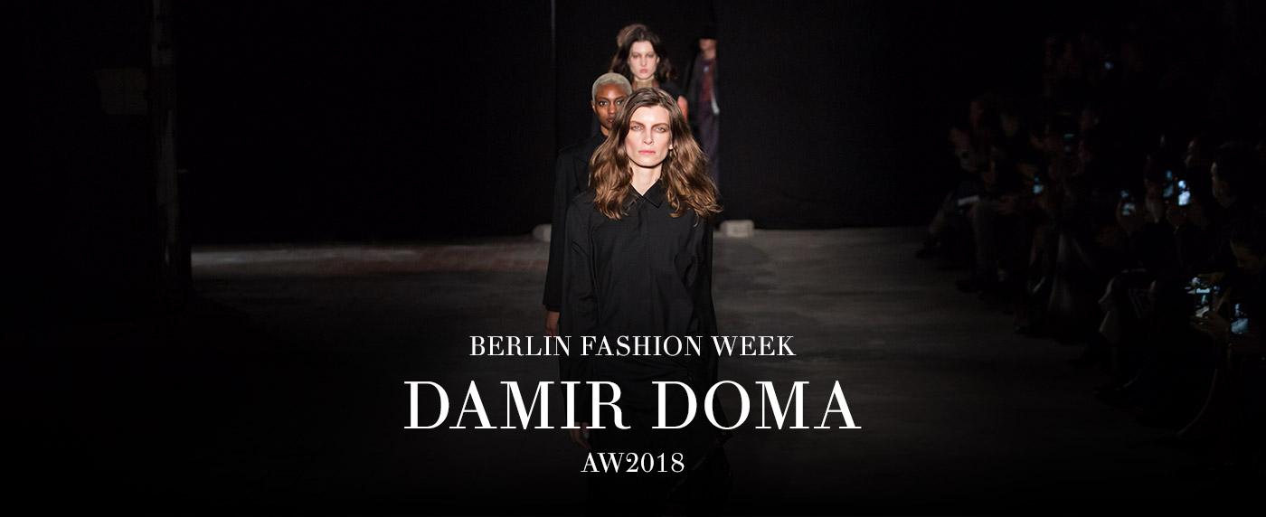 Damir Doma AW18 modaCYCLE BerlinFashionWeek
