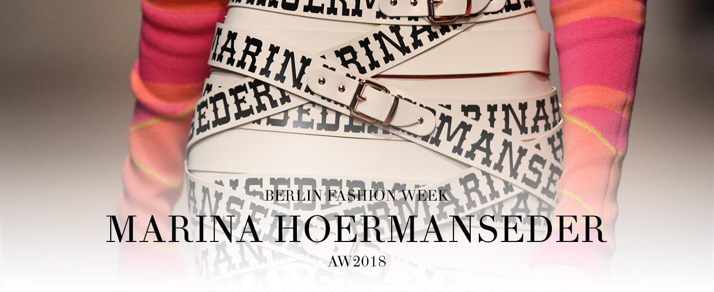 Marina Hoermanseder AW18 modaCYCLE BerlinFashionWeek