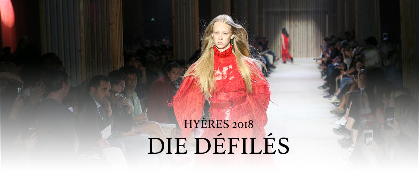 Hyeres Festival 2018 DEFILES