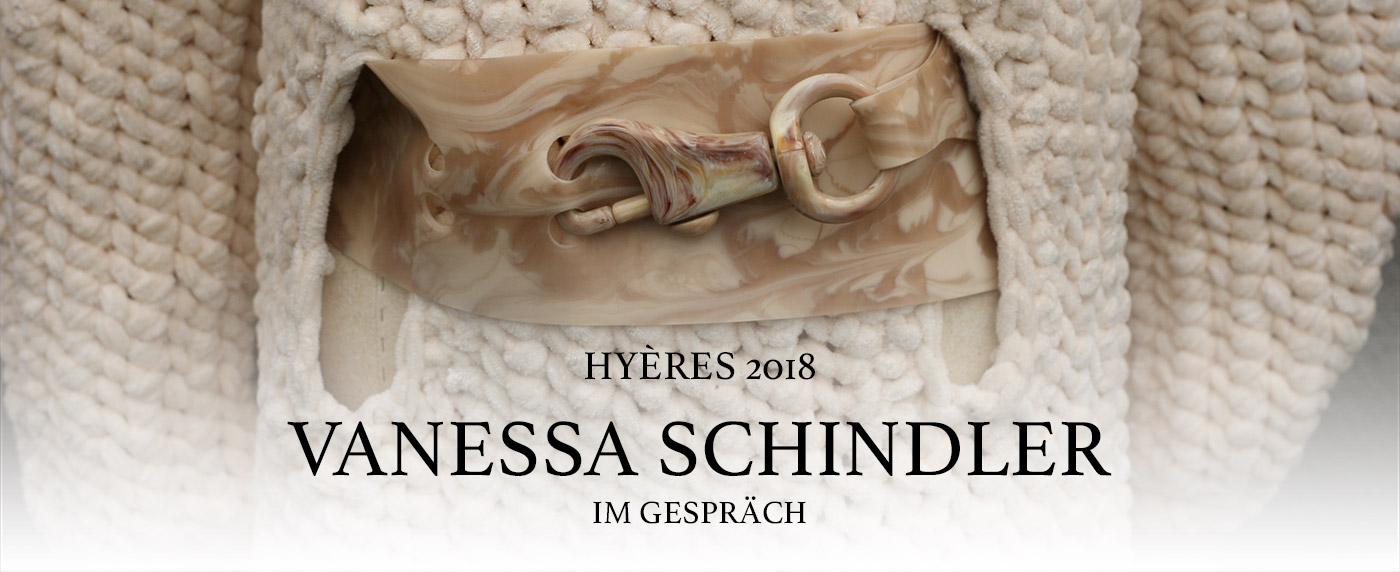 Vanessa Schindler Hyères Festival 2018