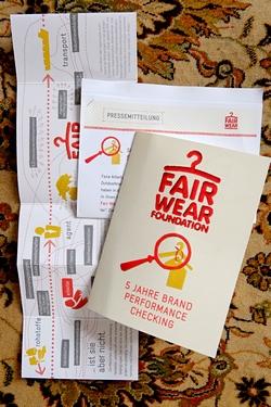 Fair Wear Foundation: Pressekonferenz