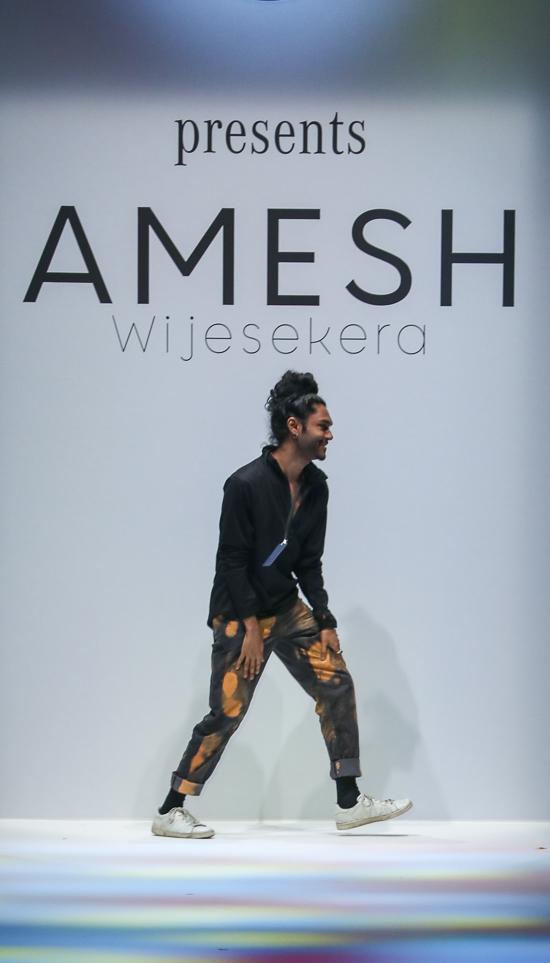 Amesh Wijesekera: Heiteres Lebensgefühl