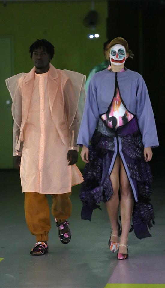 Wie fühlt sich Mode an?