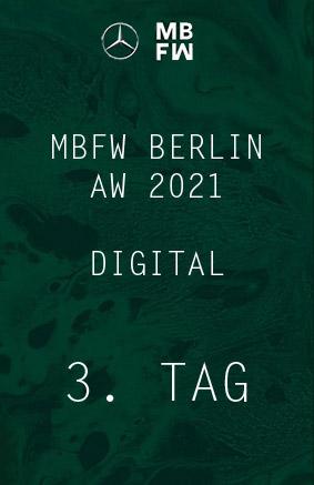 Digitale Fashionweek aw2021 – 3. Tag